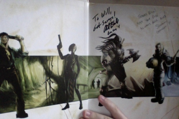 Signatures inside Savage Worlds Deluxe